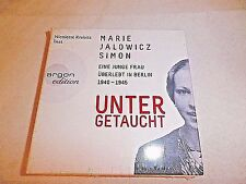 UNTER GETAUCHT -MARIE JALOWICZ SIMON -argon edition  7-CD SET FAST FREE S&H