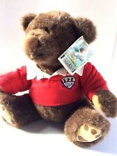 L L Bean, Gund, Rugby Bear,Collectible,Teddy Bear,Boy Plush,Stuffed Animal,New