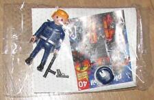 Nuevo Sombrero De Playmobil Figura Hombre policía pistola pistola Tonfa oficial de policía
