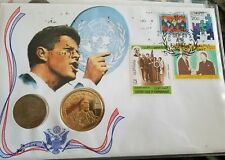 Address to The United Nation The Legacy of John F. Kennedy Coin Stamp Collection