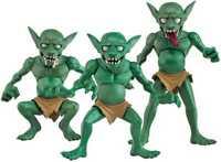 Original Character Action Figures Goblin Village 7 CM Aqua Marine