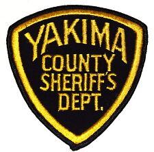 YAKIMA COUNTY WASHINGTON WA Police Sheriff Patch VINTAGE OLD MESH ~