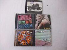 Lot of 5 Aerosmith Audio CDs