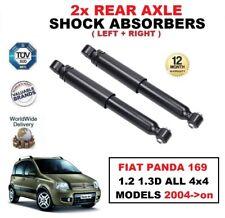 2x REAR AXLE SHOCK ABSORBERS SET for FIAT PANDA 169 ALL 4x4 MODELS 2004->on