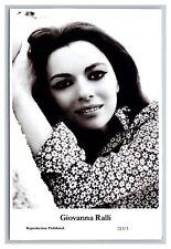 Giovanna Ralli (C) Swiftsure Postcard year 2000 modern print 213/3 glamour photo