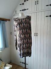 Wallis grey/pink multi tunic dress size M
