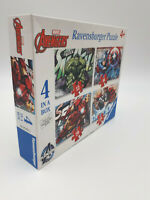 Ravensburger Marvel Avengers 4 In A Box  Jigsaw Puzzle 100% Complete Free Post
