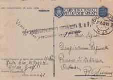 A6920) WW2, CIRQUENIZZA (CROAZIA), BOLLO 10 RAGGRUPPAMENTO ARTIGLIERIA GAF.