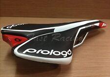PROLOGO ZERO Pas Saddle Black ZERO 2 pas black white line red logo