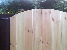 Wooden Garden Side Gate 6ft x 3ft Tongue & Groove Medium Duty (Great Value)