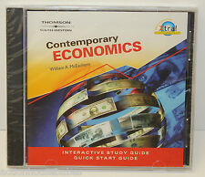 McEACHERN CONTEMPORARY ECONOMICS STUDY GUIDE CD-ROM - BRAND NEW