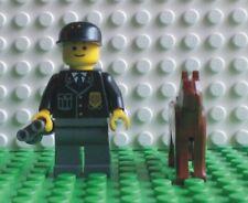 Neue Lego Minifigur Polizist mit Hund und Fernglas (9247-2)  700