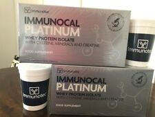 "2 BOXES IMMUNOCAL PLATINUM BY IMMUNOTEC. EXP. 2019 ""FREE SHIPPING"" 2 Cups"