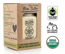 100% East African Organic Unrefined Shea Butter Protects Skin And Hair 8 Ounces