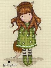 BOTHY THREADS  XG24  THE FOX  GORJUSS   CROSS STITCH  KIT