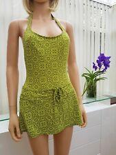 DKNY Genuine Designer Swim dress Skirt Swimwear Swimsuit Bathing Suite UK10 (28