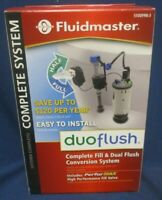 🔥🆕Fluidmaster DuoFlush Complete Fill & Dual Flush Conversion System 550DFRK-3