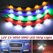 30CM 12V 5050 Car Motorcycle 15 LED Bar Strip Light Running Grille Waterproof