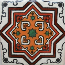 C#113)) MEXICAN TILE SAMPLE WALL FLOOR TALAVERA MEXICO CERAMIC HANDMADE POTTERY