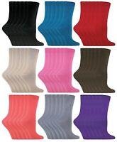 Sock Snob - 6 Paires Femme Courtes Respirant Colorée Couleur Coton Chaussettes