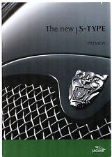 Jaguar S-Type 2002 UK Market Launch Sales Brochure 2.5 3.0 V6 4.2 V8 R Sport SE