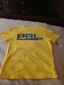 NWT Boys Polo Ralph Lauren T-Shirt Size M Medium