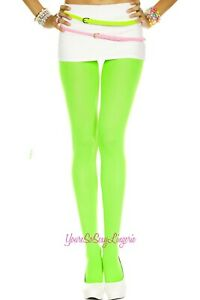 🔥🔥Women's Neon COLOR OPAQUE TIGHTS Pantyhose 💲DISCOUNTS APPLY!!💲 OS