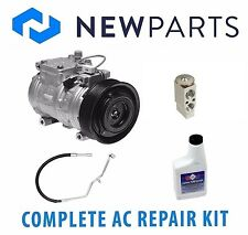 Jeep Grand Cherokee 93-98 5.2L Complete A/C Repair Kit New Compressor w/ Clutch