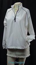 Lady Hagen 1/4 zip Pullover Light Golf jacket windbreaker coat L/S SZ M VTG NEW