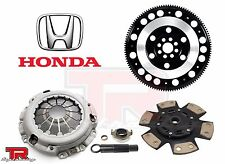 HONDA COVER+TOP1 RACING STAGE 2 CLUTCH KIT+CHROMOLY FLYWHEEL RSX TYPE-S CIVIC SI