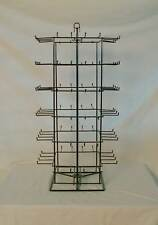 Counter Top Carousal Revolving Square Wire Rack 96 Peg / 6 Tier / 4 Side kly0102