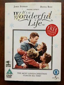 It's a Wonderful Life DVD 1947 Christmas Movie Classic w/ Slipcover