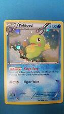 Politoed (18/111) GALAXY PROMO HOLO FOIL Rare -Furious Fists- NM- Pokemon Box