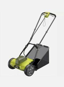 Ryobi 18V Cordless Electric Cylinder Scissor Cut Lawn Mower Console - Skin Only