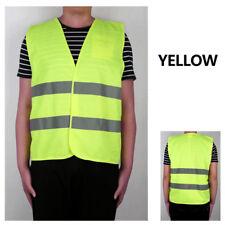 Profi Warnweste Weste Warnschutzweste Streifen Uniformen Kleidung Set Refle G4X8