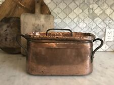 Antique French Copper Daubier,c.Late 1800s