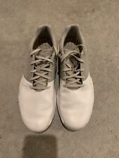 New listing adidas adipower 4orged golf shoes - silver/white, size 11.5