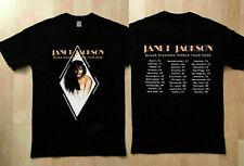 GILDAN Janet Jackson t Shirt Black Diamond world tour 2020 T-Shirt