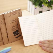 2pcs Handmade Journal Memo Dream Notebook Paper Notepad Blank Mini Pocket Diary