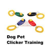 P4PM Pet Clicker Train Trainer Training Aid for Dog Bird Cat