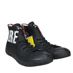 New Converse x Sex Pistols Chuck Taylor All Star Hi Black White CTAS 151896C