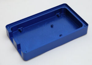 Custom Made CNC Machined Aluminium Blue Anodised Arduino Mega Compatible Case