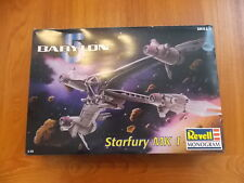 Revell Babylon 5 Starfury Mk II space fighter - parts still in sealed bags