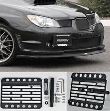 For 08-11 Subaru Impreza Front Bumper Tow Hook - License Plate Bracket Mount