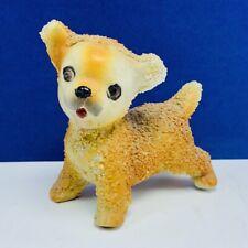 Dog figurine japan puppy vtg miniature gold retriever lab yorkshire terrier mcm
