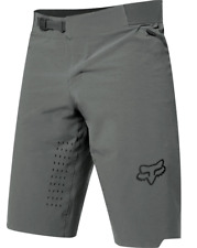FOX RACING MENS PEWTER GRAY FLEXAIR MTB CYCLING SHORTS sizes 30 32 34 36 38