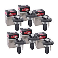 Set of 6 Delphi Ignition Coil GN10114 For Chevrolet GMC Isuzu Hummer 02-08