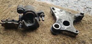 1996-1997 HONDA CBR900 FIREBLADE RRT RRV REAR BRAKE CALIPER & BRACKET #AK21