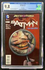Batman #13 CGC 9.8 3rd Print - SUPER RARE - New 52 DC Comics Joker Cover