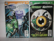 DC Universe Comics Brave and Bold Green Lantern and Team-up Lot of 5